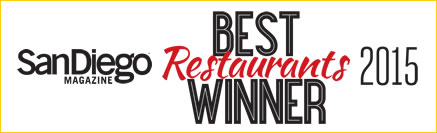 Best Restaurants Winner 2015